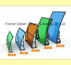Aluminum /Polycarbonate Awning for Doors and Windows /Sunshade pictures & photos