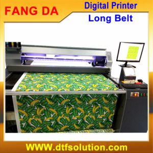 Digital Printing Machine for Large Format Fabric Pigment Inkjet Print pictures & photos