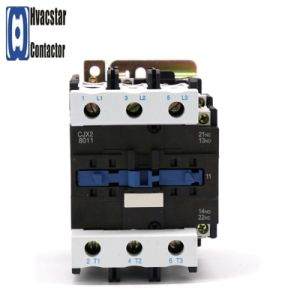 Cjx2-8011-220V Magnetic AC Contactor Industrial Electromagnetic Contactor pictures & photos