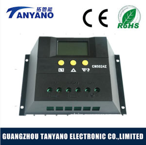 Solar Charge Controller Solar 50A 12V/24V Solar Controller with LCD