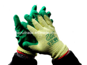 10-Pin Nitrile Gloves Industrial Gloves for Working pictures & photos