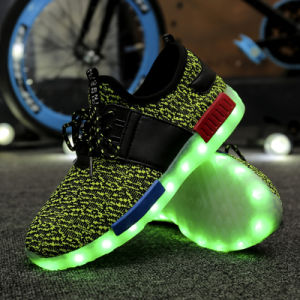 2017 New Style Colorful Sport LED Shoes with LED Lights pictures & photos
