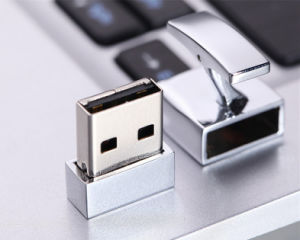 Top Quality Stylish Silver USB Flash Drive Cufflinks pictures & photos