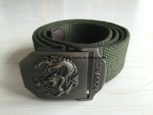 Green Cotton Military Belt for Men pictures & photos