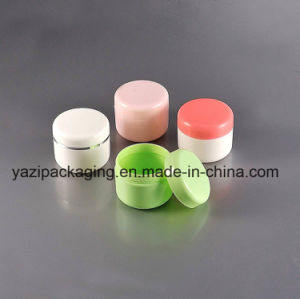 20g PP Single Wall Plastic Cosmetic Jar pictures & photos
