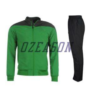 Cheap Plain 100% Polyester Men Sport Jogging Suit (TJ009) pictures & photos