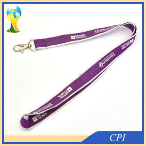 Two Colors Weaving Lanyard with Custom Logo Printing pictures & photos