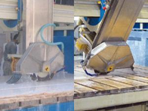 Countertop Kitchentop Edge Cutting Machine Bridge Saw Cutting Granite Tile Xzqq625A pictures & photos