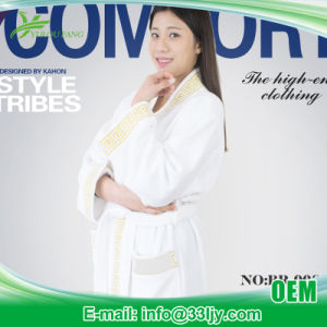 Manufacturer Cheap 100% Cotton Bathrobes pictures & photos