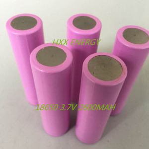 18650 Battery Cell with Full 2600mAh 3.7V 2600mAh Rechargeable Lithium Battery for Electronic Cigarette Mod Best Quality pictures & photos