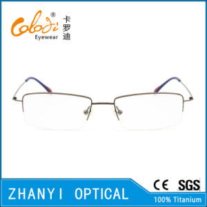 Simple Beta Titanium Eyewear Eyeglass Optical Glasses Frame (8501) pictures & photos