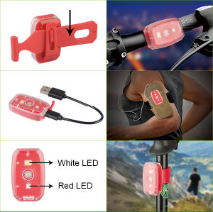 USB Rechargeable LED Bicycle Lights pictures & photos
