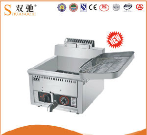 17L Single Tank Stainless Steel Electric Potato Chips Deep Fryer pictures & photos