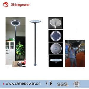 Round 15W 18V Glass Solar Panel for Solar Street Light pictures & photos