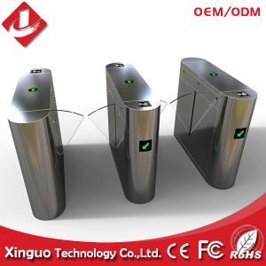 Hot Sell Flap Barrier Turnstile Paint Handling Card Reader Automatic Boom Barriers pictures & photos