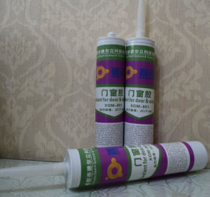 Sealant for Door and Windows Adhesion to Glass Metal Plastic pictures & photos