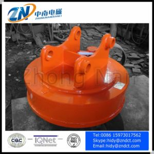 High Frequency Excavator Magnet Using out Door pictures & photos