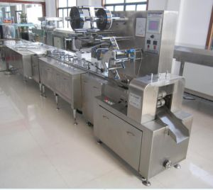 Full Automatic Chocolate Pillow Wrapping Machine pictures & photos