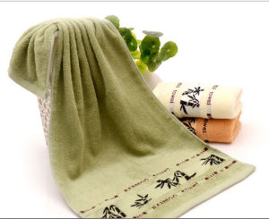 100% Cotton Cheap 100g Kitchen or Tea Towel pictures & photos