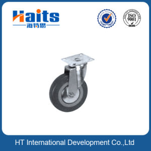 Rubber Caster Wheels for Chair, 125mm Caster, Iron Wheel for Gate