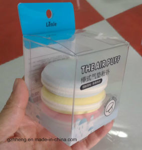 OEM plastic box for Sponges (PVC puff package) pictures & photos