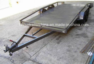 High Quality Semi Car Trailer/Flatble Trailer pictures & photos
