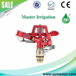 "Zinc Alloy Controllable Angle Rotary Sprinkler 1/2"" Male for Lawn Farm Irrigation"
