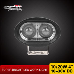 "4"" 10W Oval Shape Blue LED Forklift Light pictures & photos"