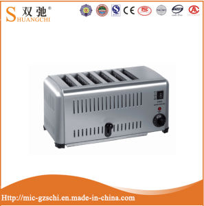 Commercial 6 Slice Electric Toaster with Stainless Steel pictures & photos