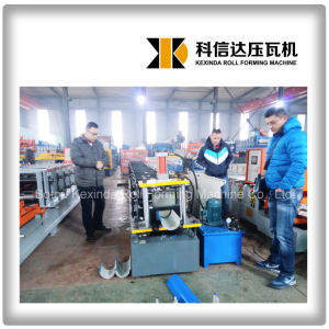 Kxd Steel Water Gutter Forming Machine pictures & photos