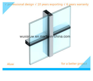 Semi-Concealed Frame Curtain Wall pictures & photos