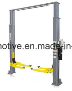 AA4c 2 Post Clear Floor Car Lift AA-2CF32&40 pictures & photos