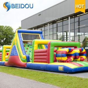 Custom Popular Giant Adult Inflatable Water Obstacle Course for Sale