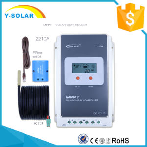 Epever MPPT LCD Display 20A 12V 24V Solar Power Controller with Ce Tracer2210A pictures & photos