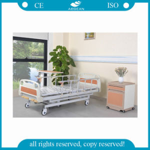 5-Function Manual Hospital Bed AG-BMS001b pictures & photos
