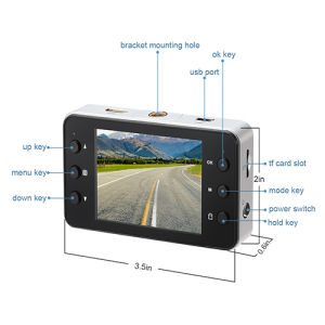 2.7 Inch TFT LCD Car Camera with Night Vision pictures & photos