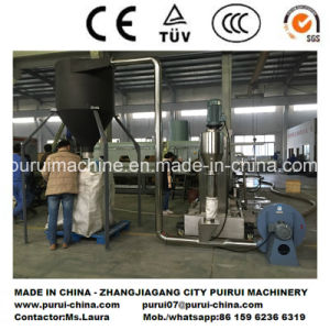 Recycling Granulating Machine for Waste Plastic HDPE Shampoo Bottles pictures & photos