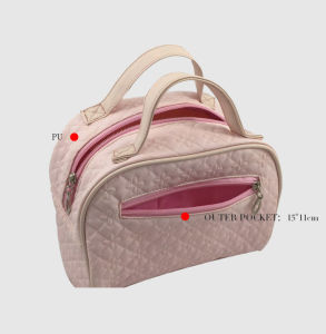 Pink PU Fashion Cosmetic Bag pictures & photos