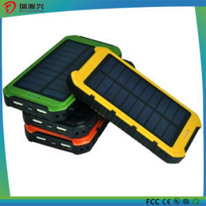 Smart Fast Charging mobile phone Solar Power Bank charger 8000mAh pictures & photos