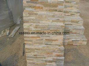 Nautre Culture Stone Slate Culture Slate Wall Cladding pictures & photos