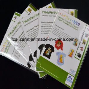 A4 Iron on Light Laser Heat Transfer Paper for Cotton pictures & photos