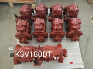 Replacement Hydraulic Piston Pump Kawasaki, K3V 63, K3V112, K3V180 pictures & photos
