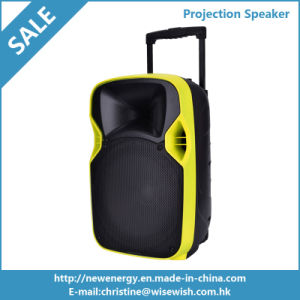 12 Inches Plastic Digital MP3 Speaker with Projector