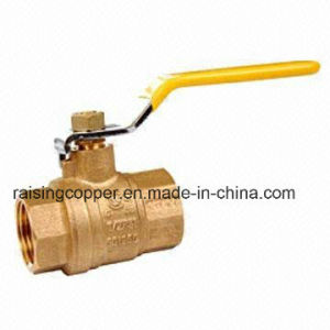 Brass Ball Valve with Brass Color pictures & photos