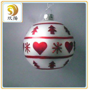 2016 Handicraft Glass Christmas Balls pictures & photos
