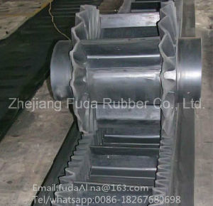 High Quality Factory Price Sidewall and Cleats Conveyor Belt and Side Walls Conveyor Belting pictures & photos