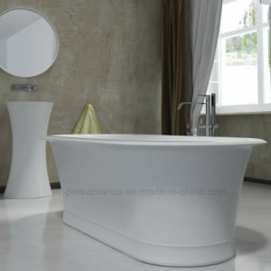 Composite Stone Atificial Stone Freestanding Bathtub (PB1015N) pictures & photos
