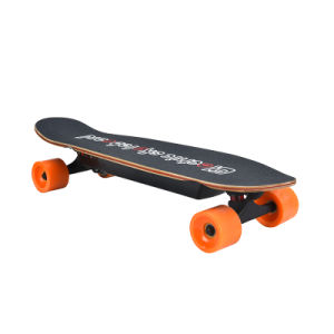 Mini Kids Tool ABS Brake 4 Wheel Deck Electric Skateboard (SZESK003) pictures & photos