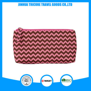 Wave Printed Small Cosmetic Pouch Cosmetic Bag for Makeup Bag pictures & photos