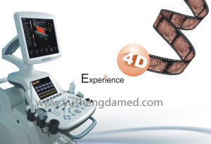 Touch Screen 4D Trolley Color Doppler Ultrasound Scanner pictures & photos